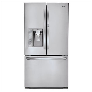 LG Super-Capacity French Door Refrigerator