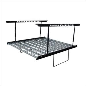 Metal overhead storage kit