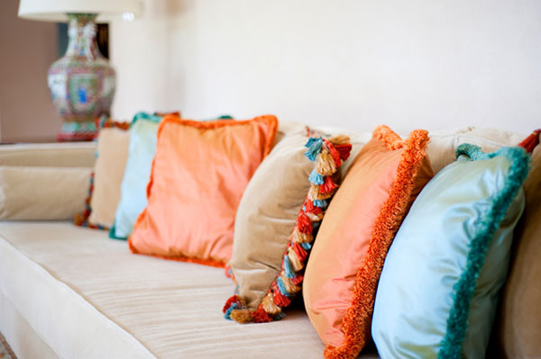 Idea two: Accessorize with pillows