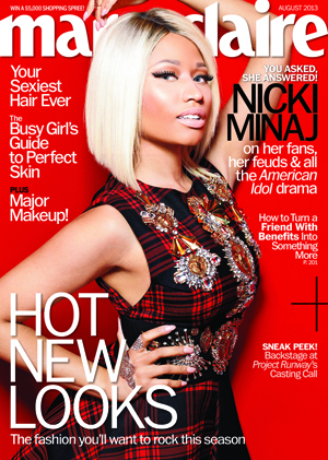 Nicki Minaj covers  Marie Claire
