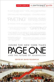Page One book cover