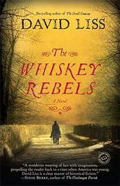 The Whisey Rebels by David Liss boo cover