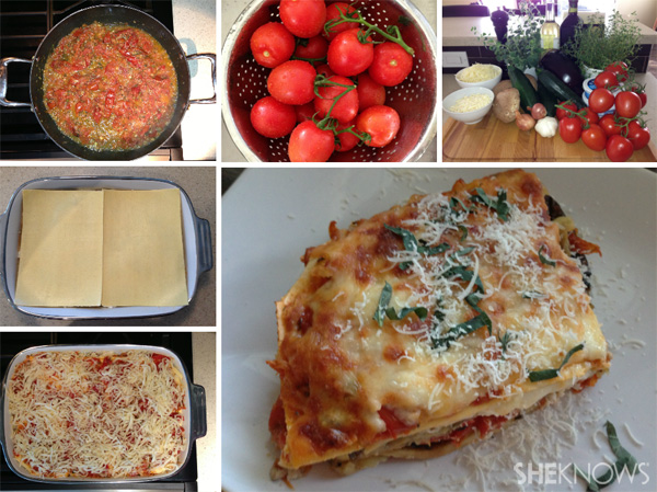 Vegetable Lasagna from SheKnows Canada