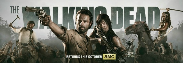 The Walking Dead Comic-Con 2013 banner