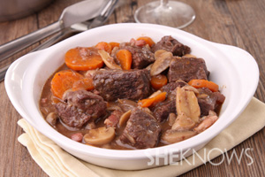 Boef Bourguignon recipe