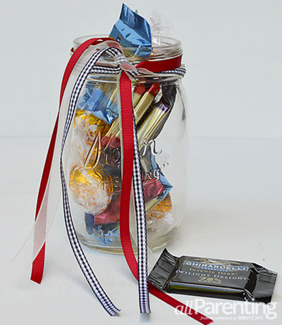 Back to school teacher gifts- chocolate