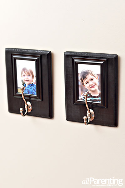 allParenting Photo frame backpack hooks
