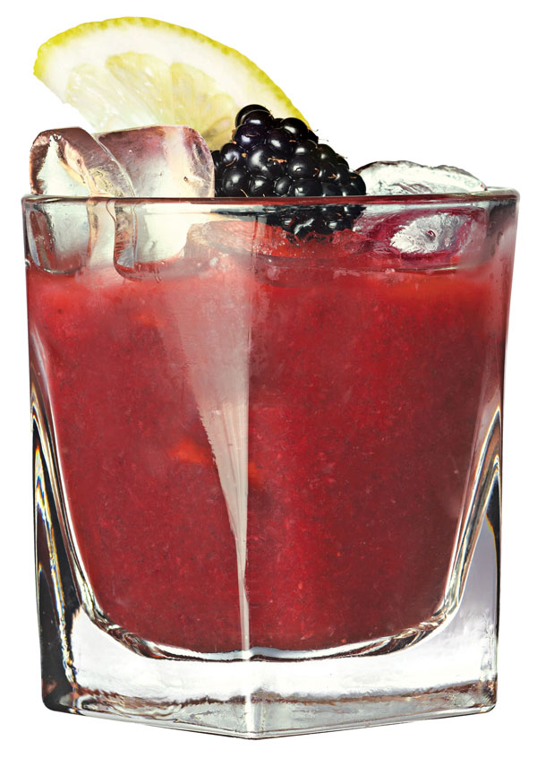 Red White and Blueberries cocktails