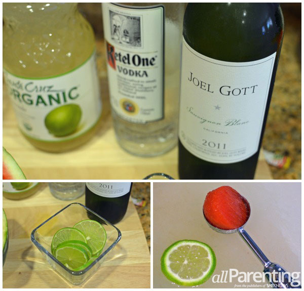 allParenting watermelon lime sangria collage