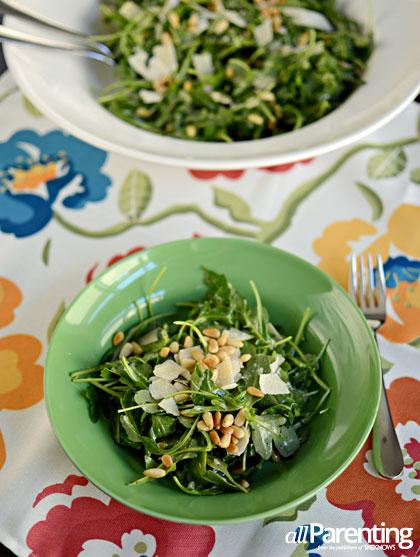... with arugula and parmesan shaved fennel salad arugula salmon