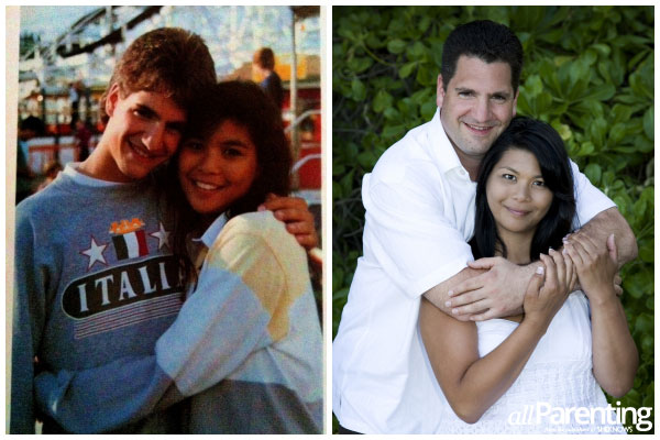 Celebrity high school sweethearts