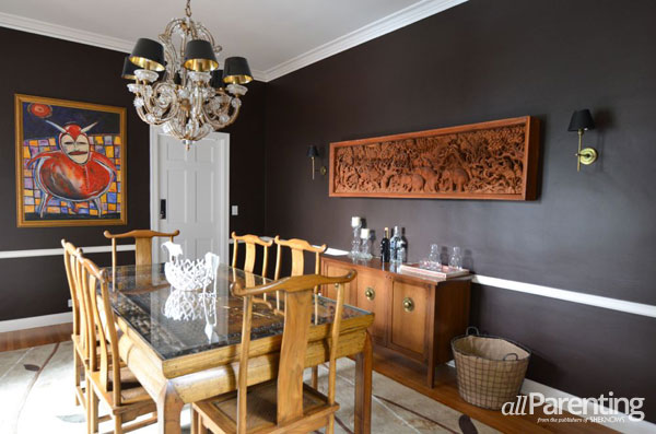 Hollywood Housewife home decor- dining room