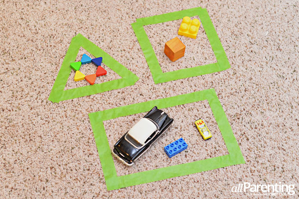 allParenting Shape sorting activity