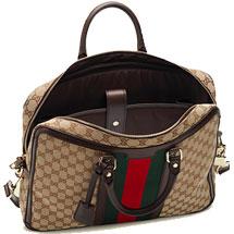 Gucci Canvas Briefcase