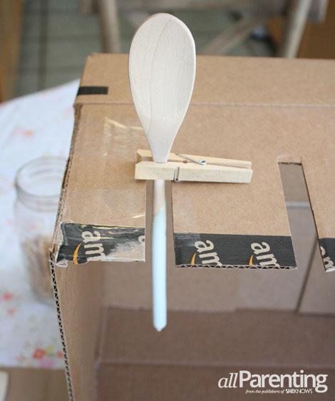 allParenting DIY paint dipped utensils step 4