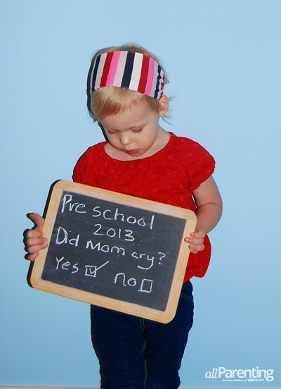 First day of school photos: Did Mommy cry?
