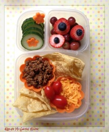 School lunch ideas- nachos