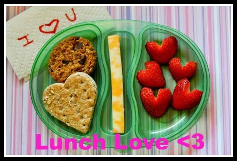 School lunch ideas- flat bread sandwich