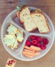 School lunch ideas- wholesome sandwich