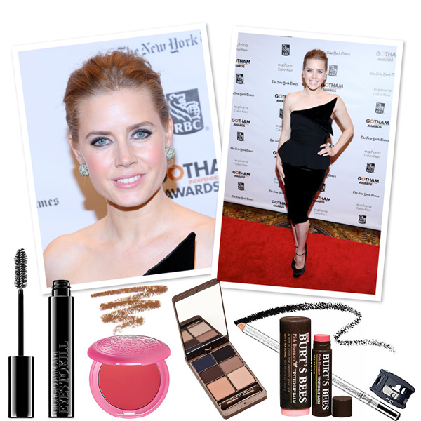 Get Amy Adam's Ice princess makeup look