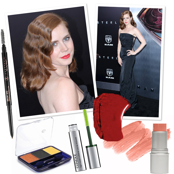 Get Amy Adam's Lady in red makeup look