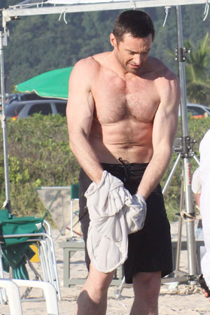 Hugh Jackman best body in Hollywood