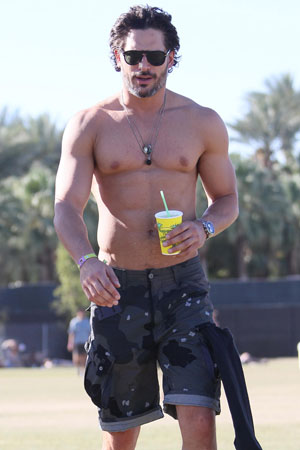 Joe Manganiello best body in Hollywood