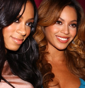 Beyonce and Solange Knowles