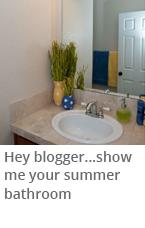 Summer decor guide for bathrooms