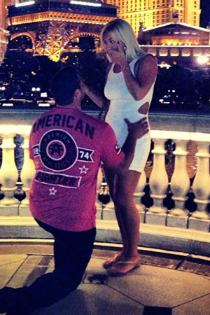 Brooke Hogan engaged