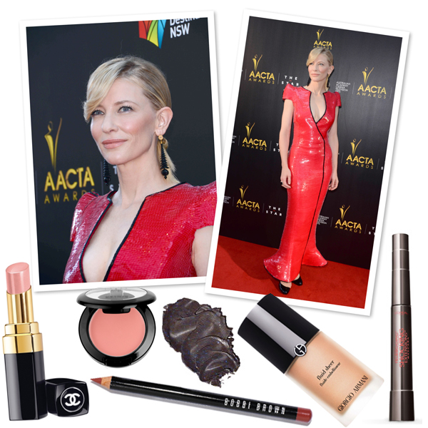 Cate Blanchett's glowing makeup look | SheKnows.com