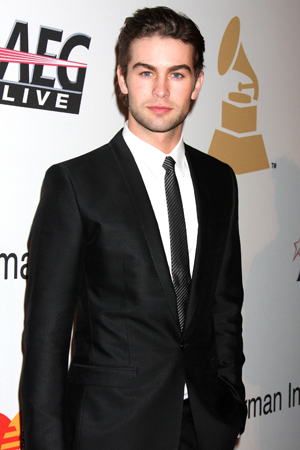 Chace Crawford in a suit