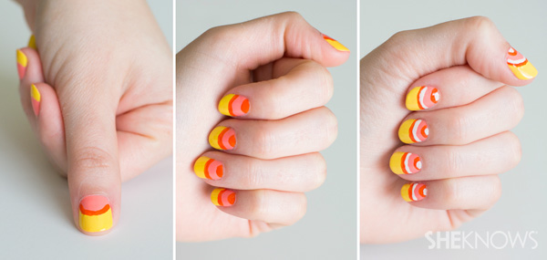 Citrus nail design | SheKnows.com