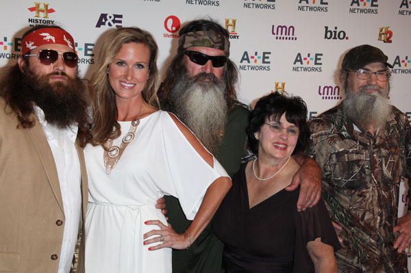 Robertson Family Duck Dynasty without Beards