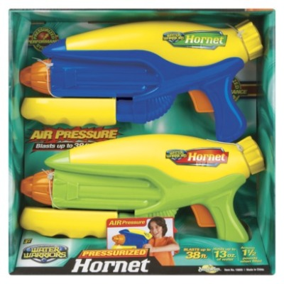 Backyard water wars will never be the same