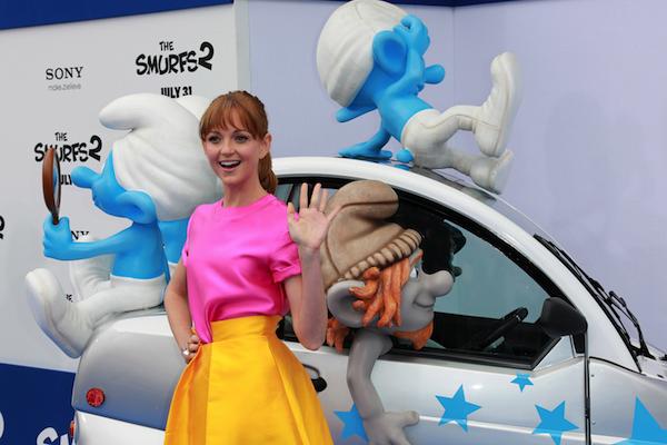 Jayma Mays in Smurfs 2