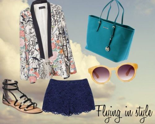 Jet-setting and looking fabulous