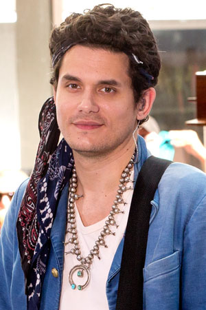 John Mayer appears on Today