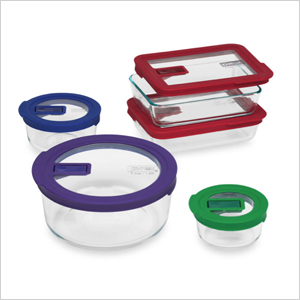 Assorted spill and leakproof containers