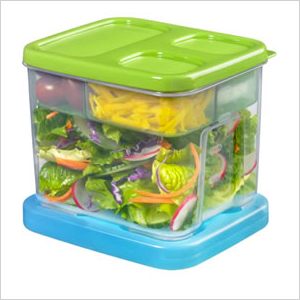 Leakproof salad container