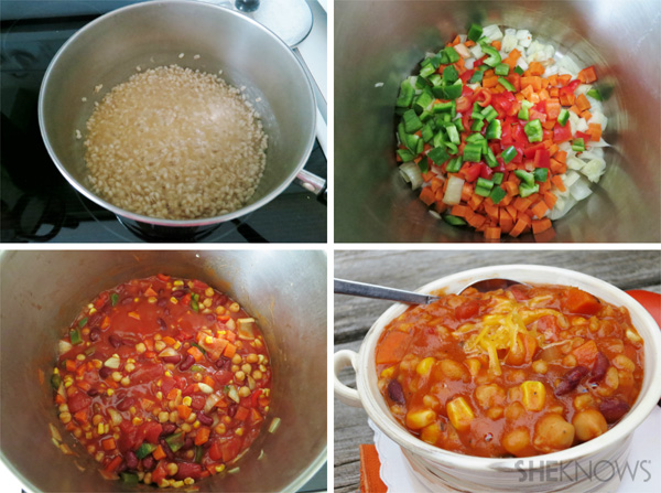 Meatless Monday: Barley and beans chili from SheKnows Canada