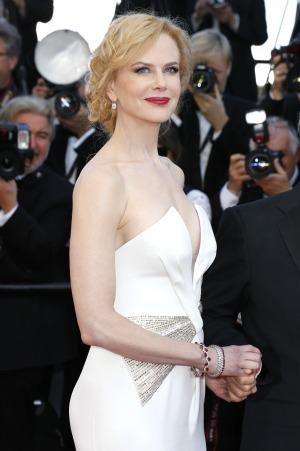 Nicole Kidman recognized