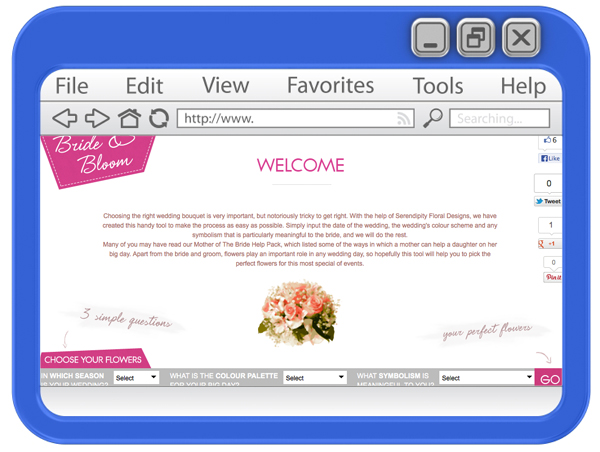 Online Tools For The Modern Bride