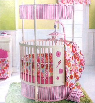 Recalled Nan Fair Rockland Furniture Round Crib