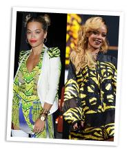 Rita Ora vs. Rihanna