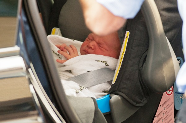 The royal baby goes home
