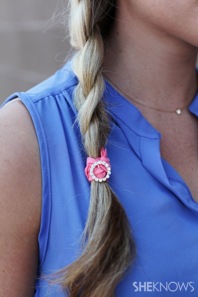 Jolie ponytail holder