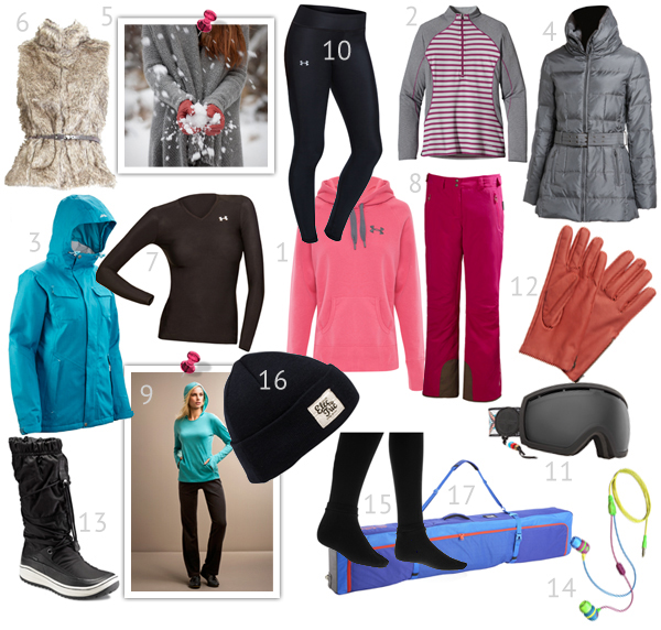 The lowdown on snow gear