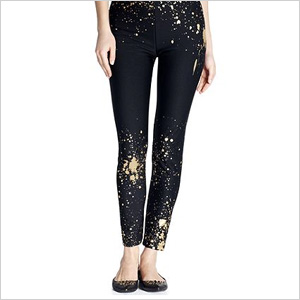 Paint spaltter detail leggings