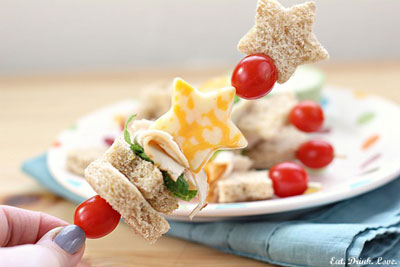Sandwich Kabob   Sheknows.ca